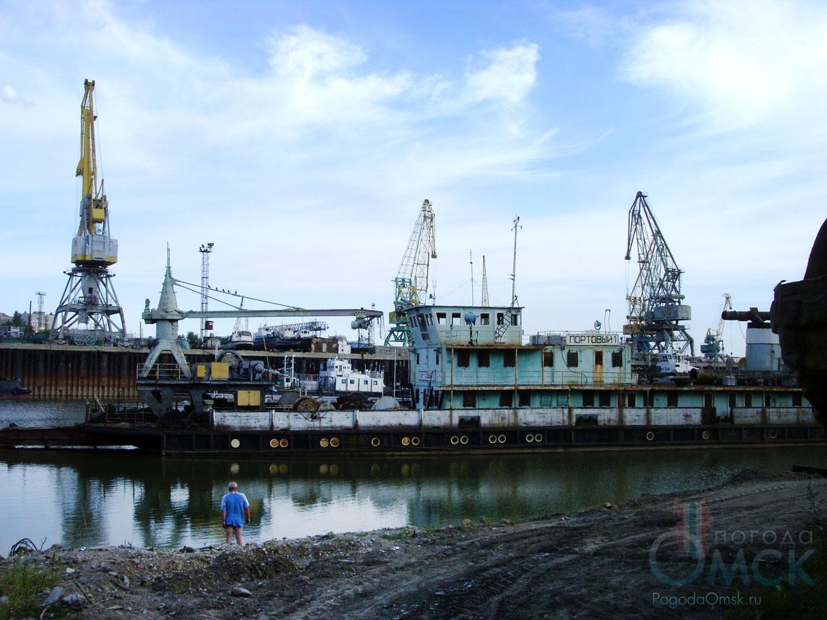 Омский речной порт