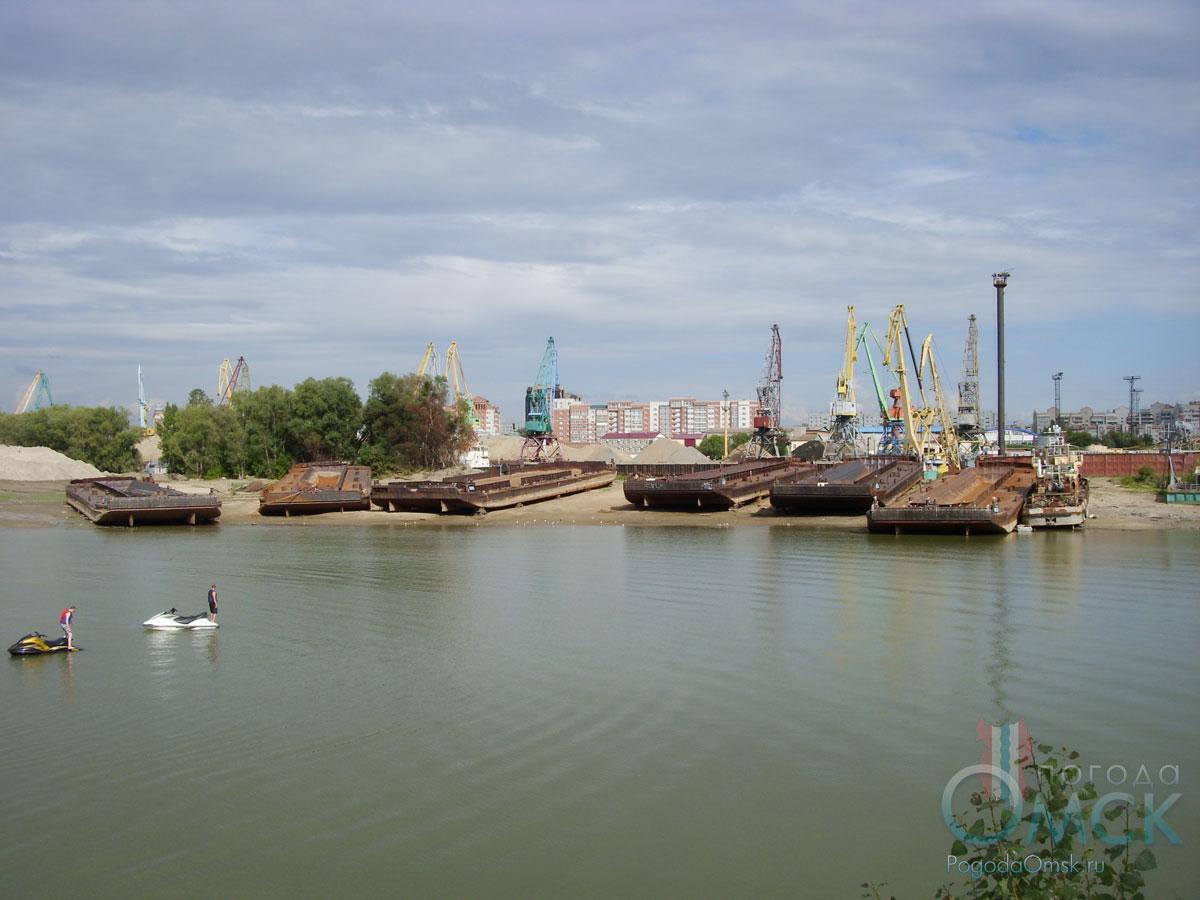 Затон речного порта