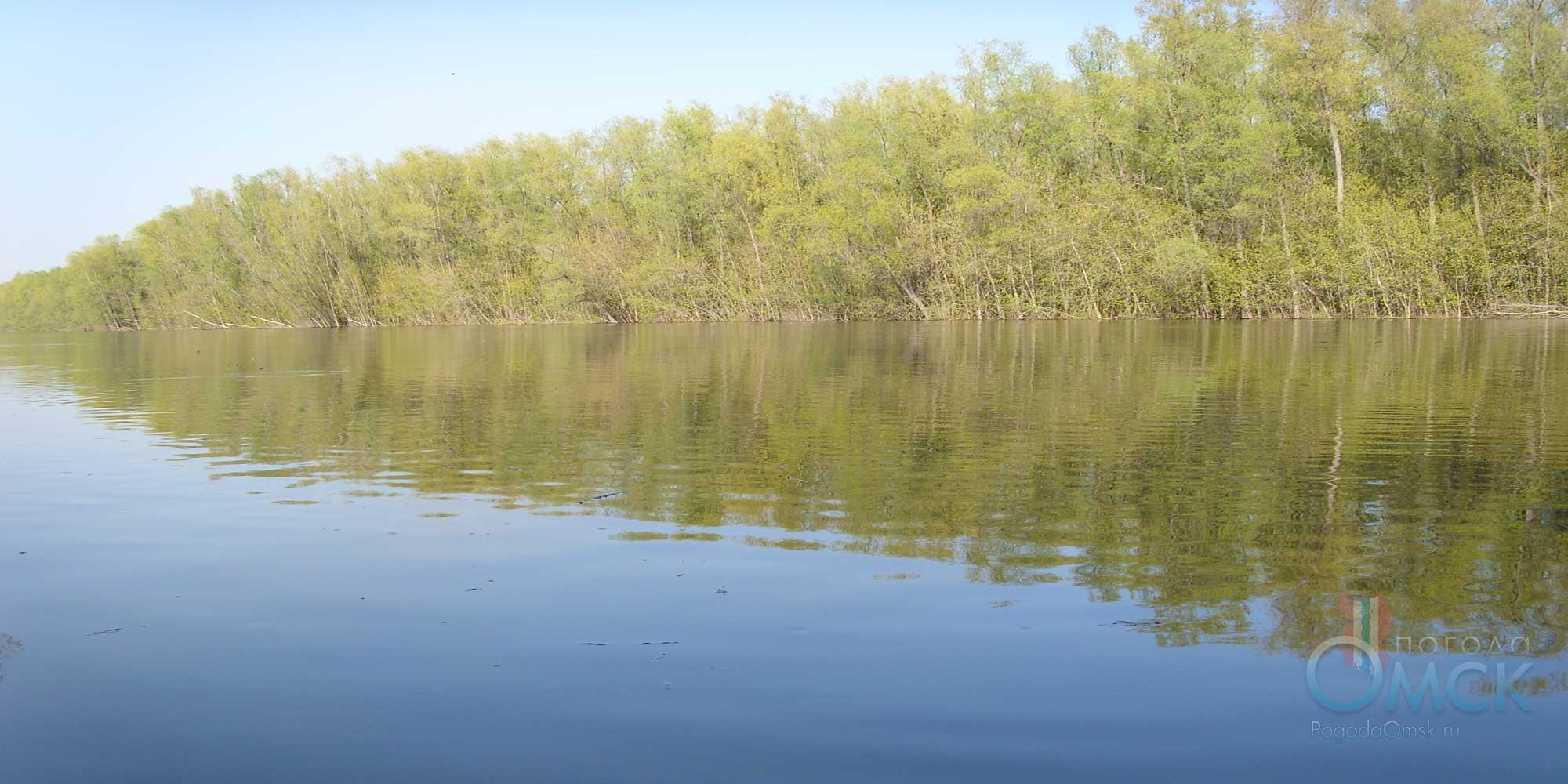 Равнинная сибирская река
