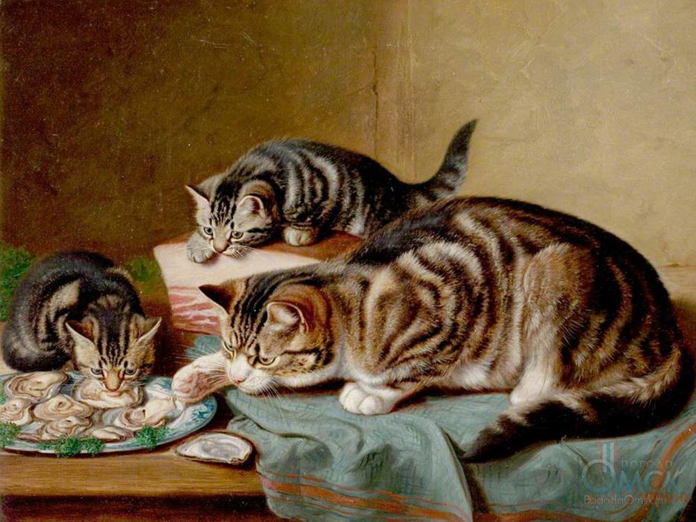 Картина «Ужин с устрицами»