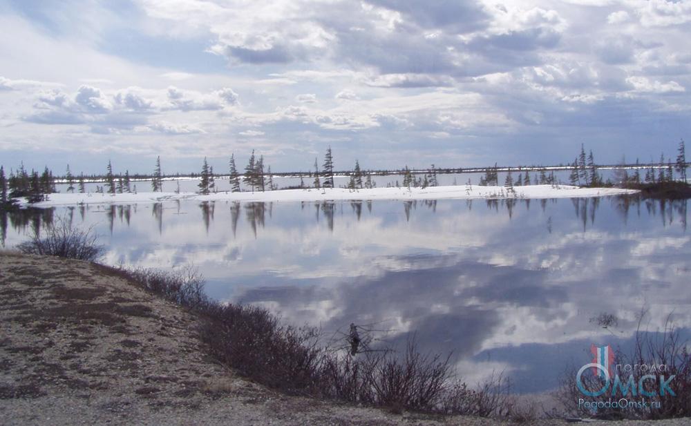 Озеро в тундре