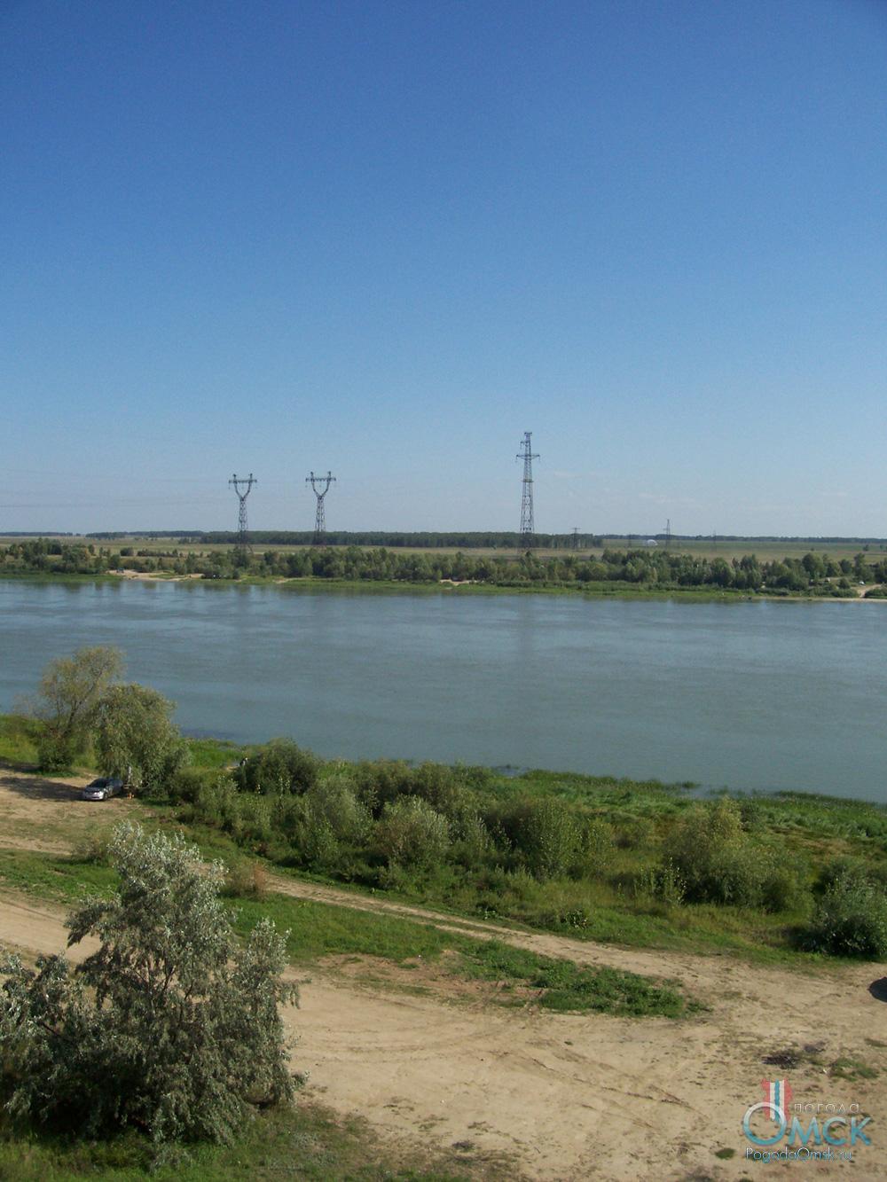 Вид на берег Иртыша