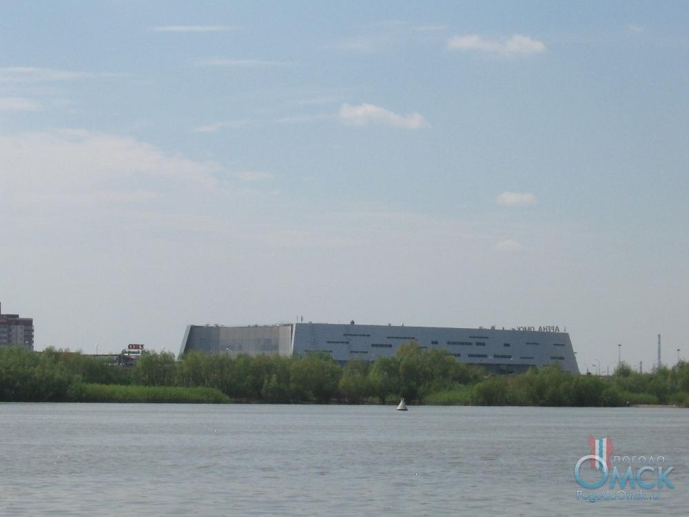 Вид на «Арена Омск»