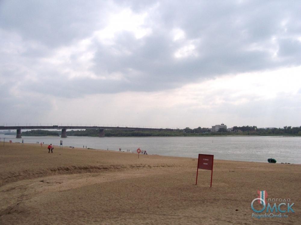 Пляж «Центральный-2» в Омске