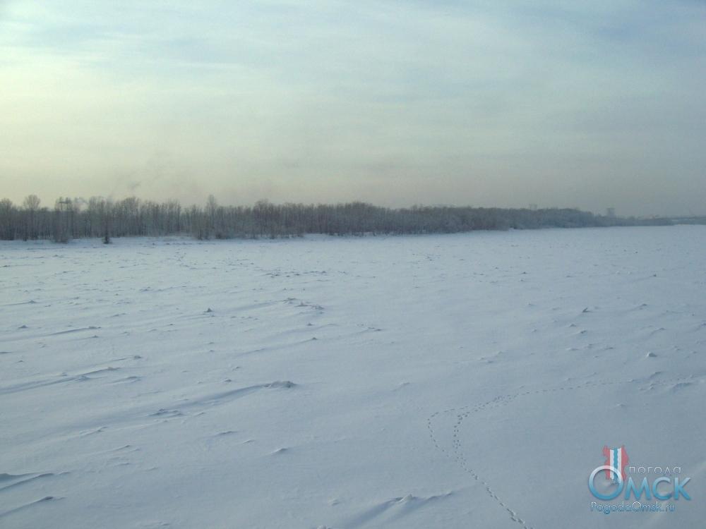 Зима на Иртыше