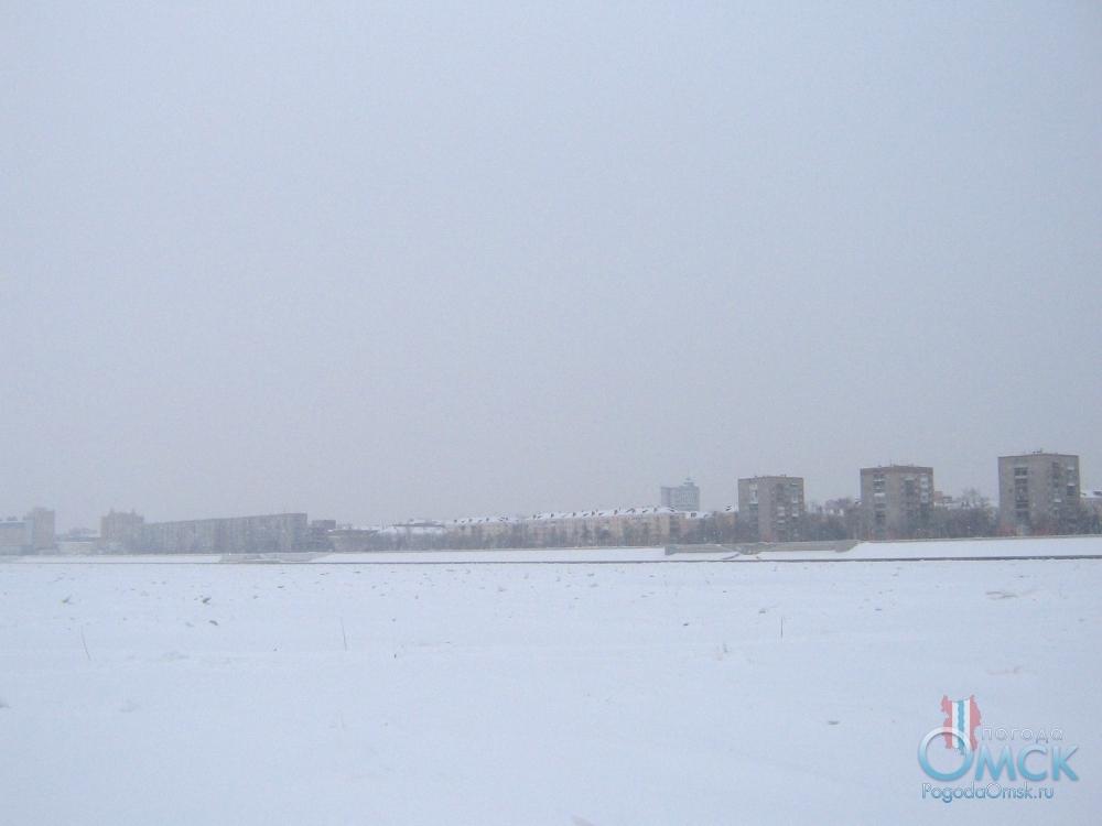 Зима, правый берег Иртыша