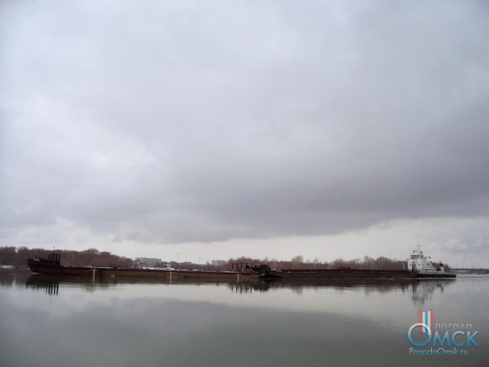 Навигация на Иртыше в ноябре