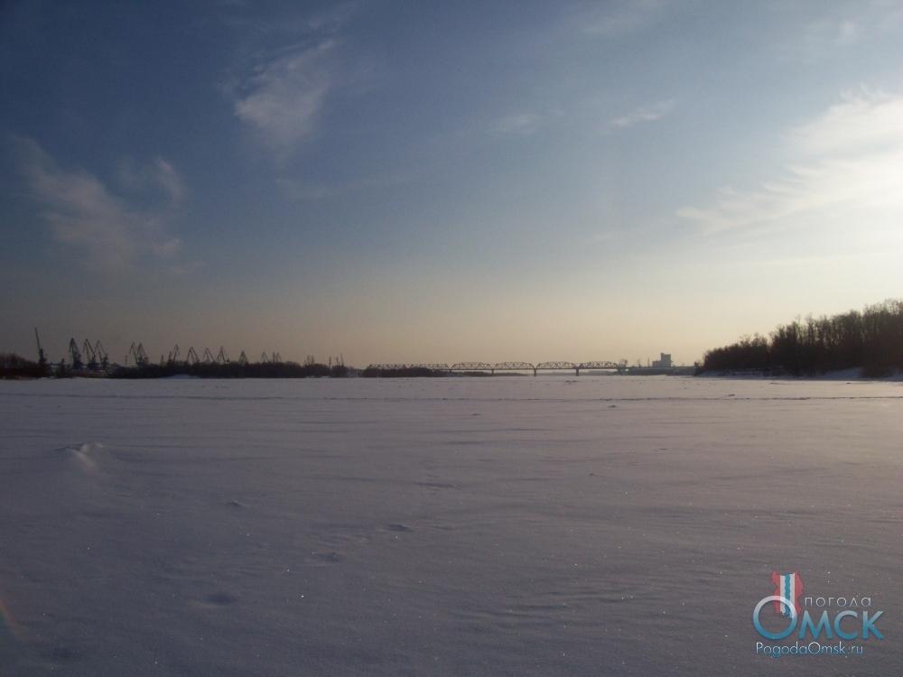 Зимний Иртыш