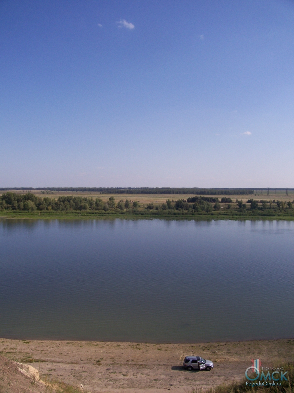 Вид с «Берега Черского»