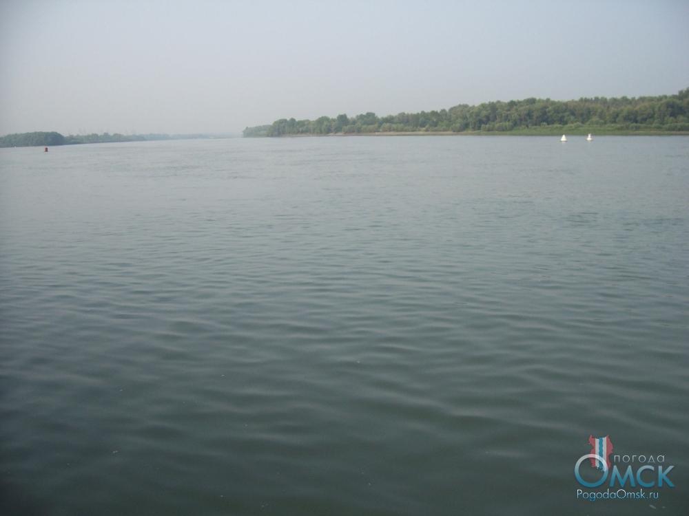 Река Иртыш. Штиль