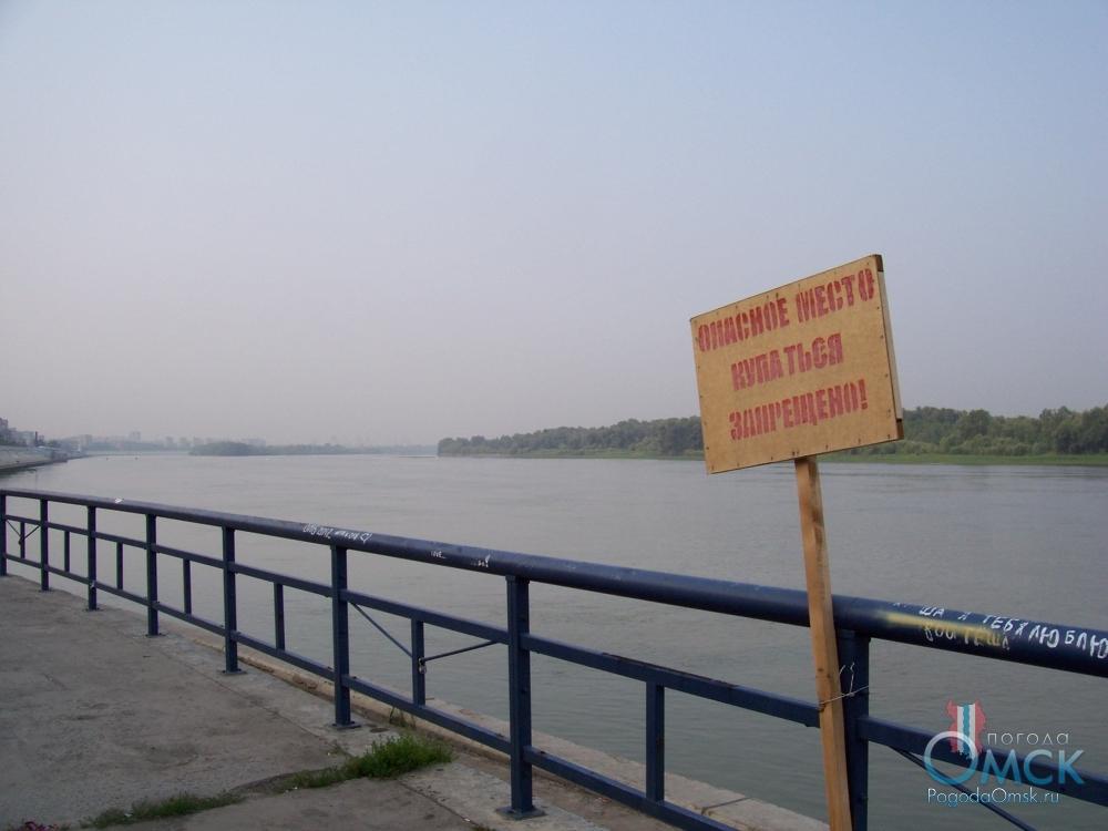 Предупредительный щит - Опасное место, купаться запрещено