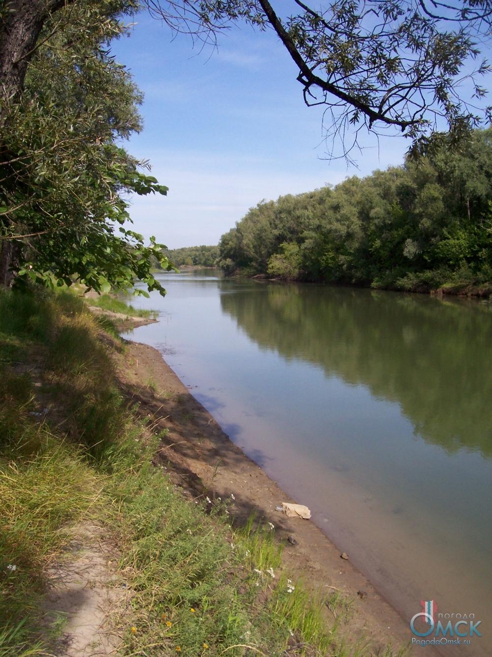 Протока на Иртыше