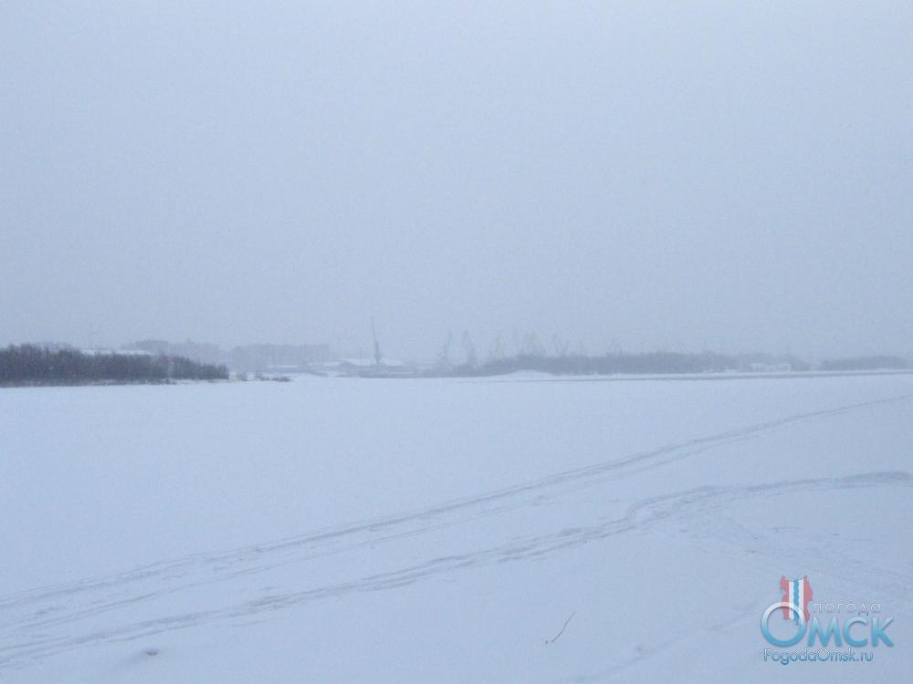Иртыш зимой