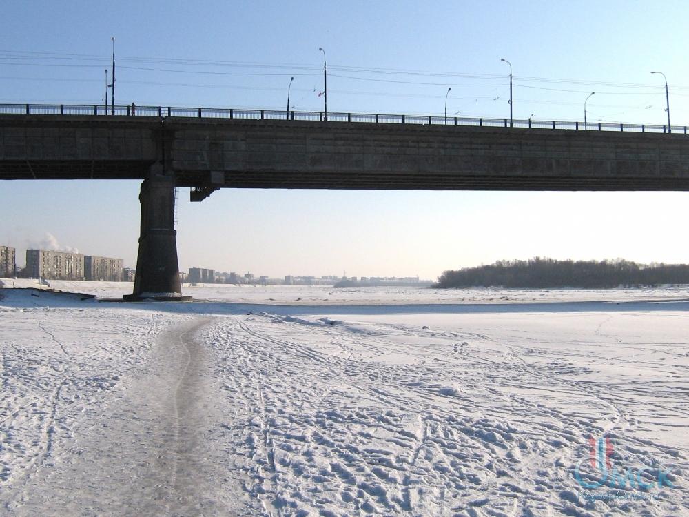 Зимой на берегу Иртыша