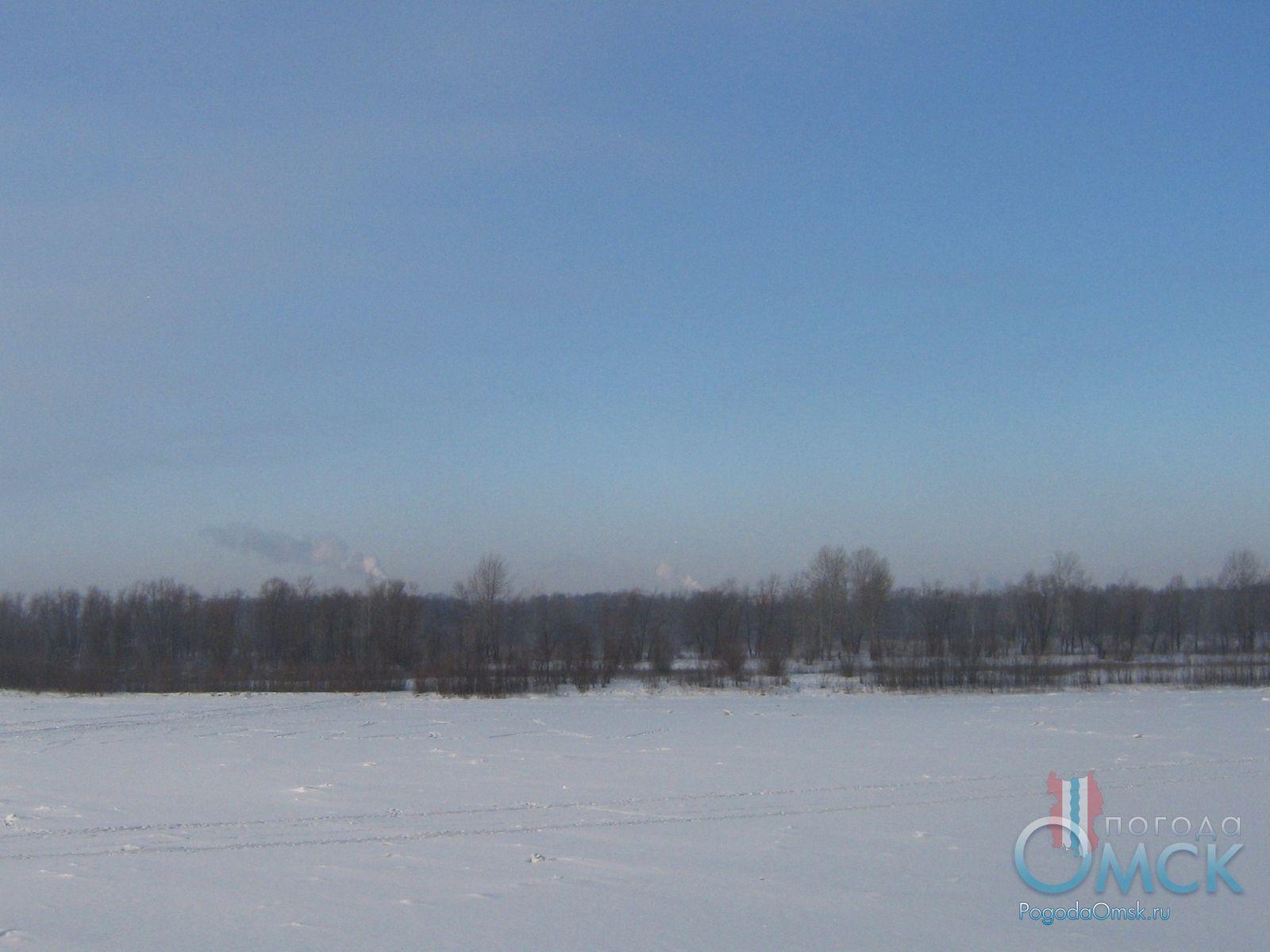 Морозный февральский день