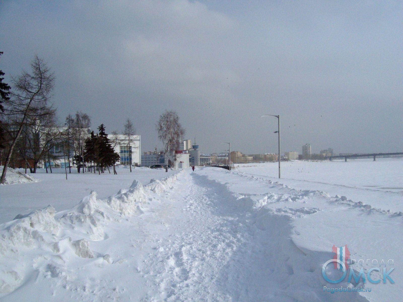 Набережная Иртыша в Омске