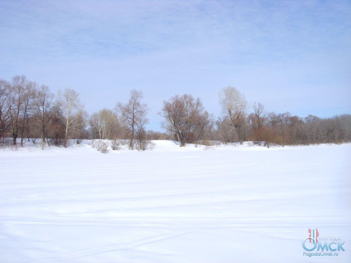 Ослепительная пелена снега