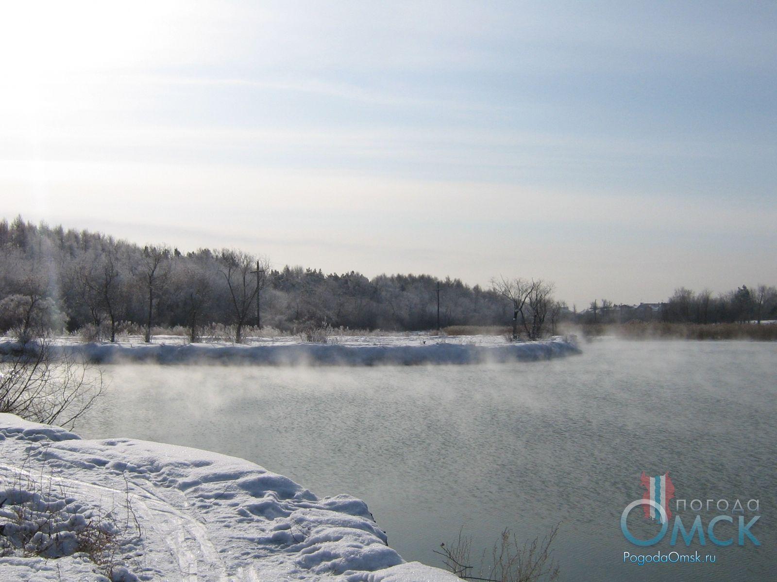 Озеро в парке им. 30-летия Победы