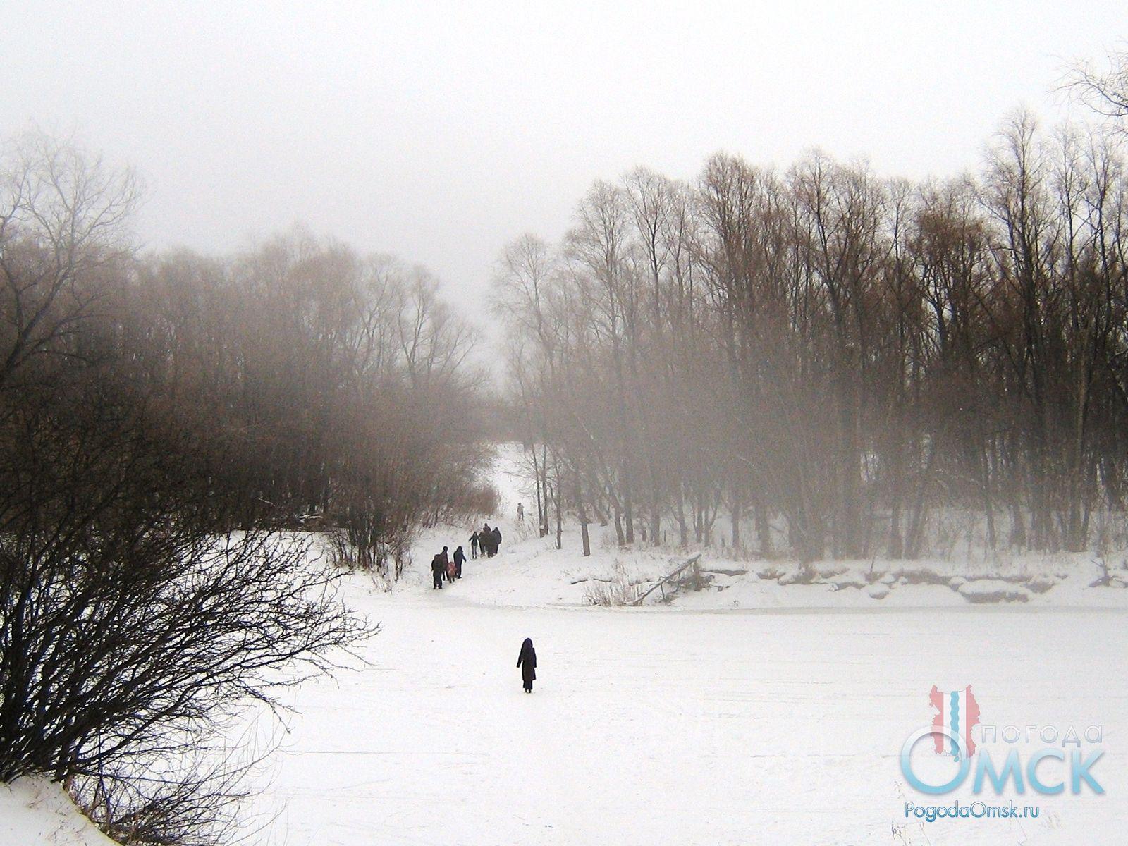 Пешая прогулка по Иртышу