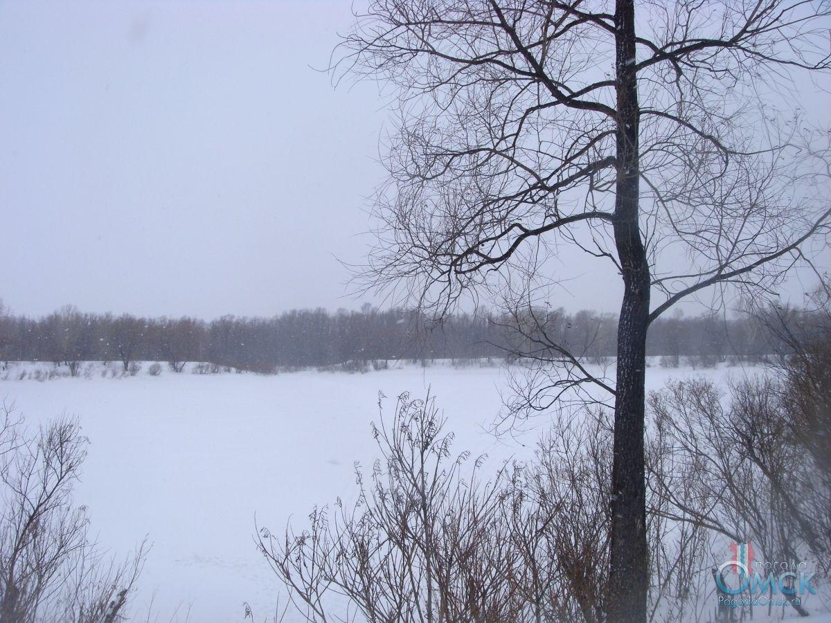 Летит пушистый снег