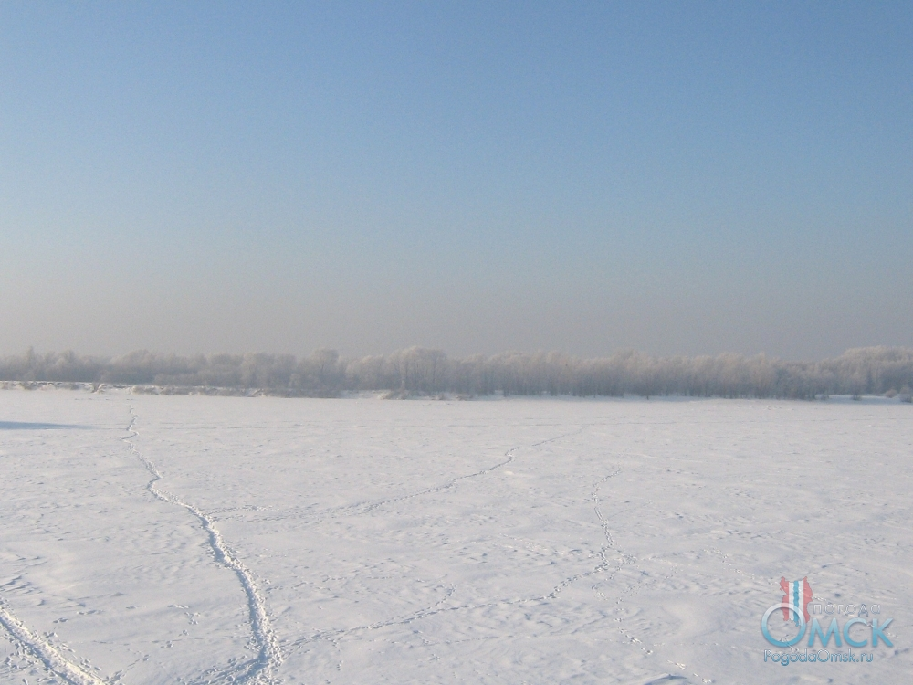 Тропинка на льду