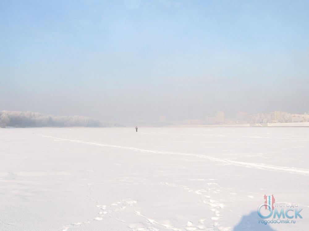 Ледяной покров Иртыша