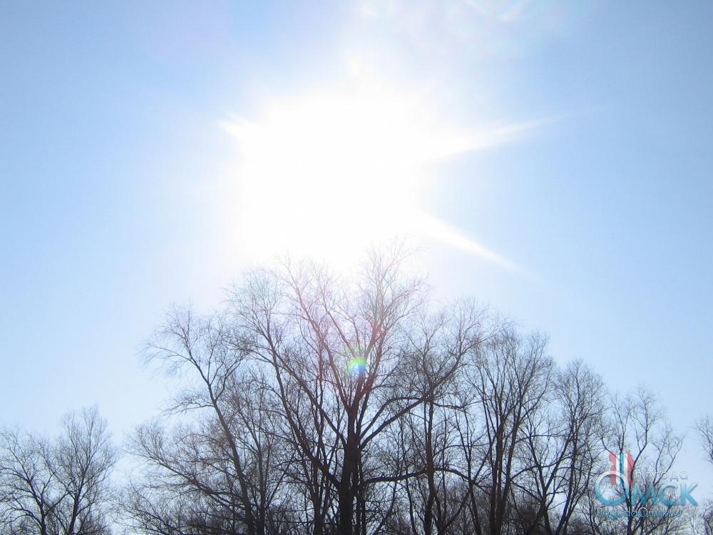 Яркое мартовское солнце