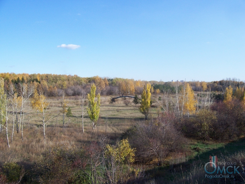 Вид на парк им. 30-летия Победы