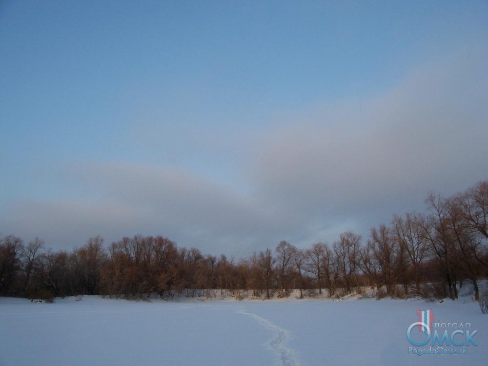 На замершем озере