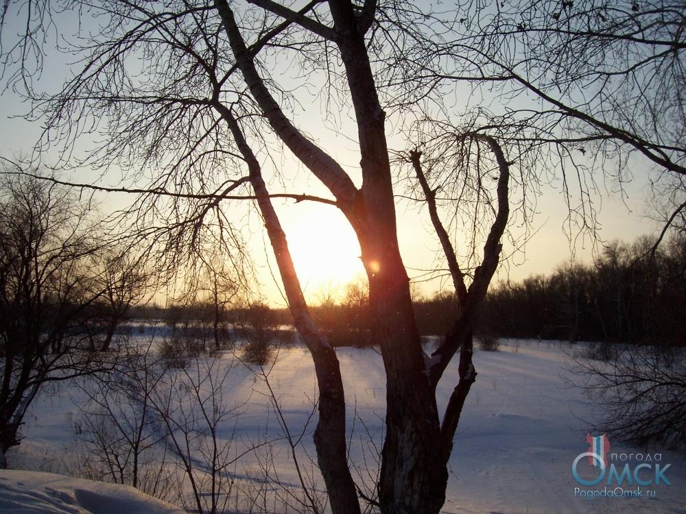 Солнце спешит за горизонт