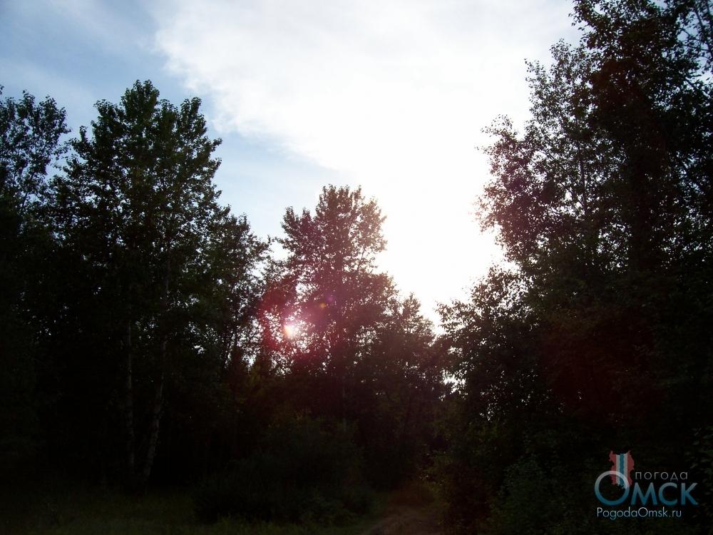 Вот солнце все ниже и ниже