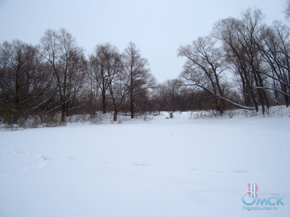 Белизна выпавшего снега, тишина и штиль