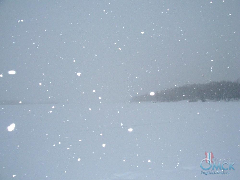 Снегопад перешел в верховую метель