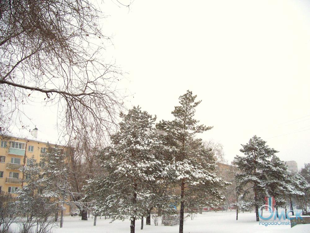 Снегопад 21 октября