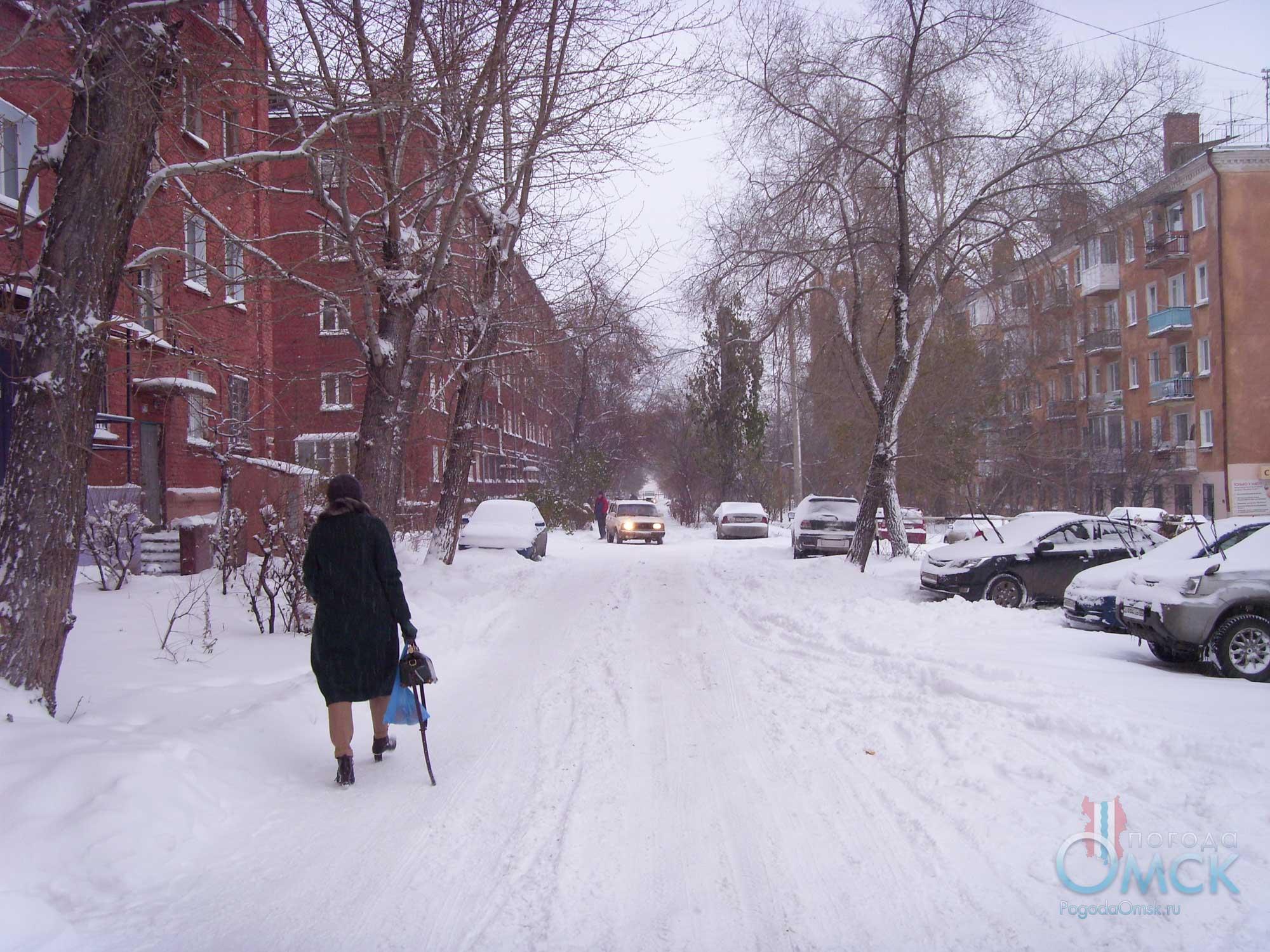 Саснеженная улица