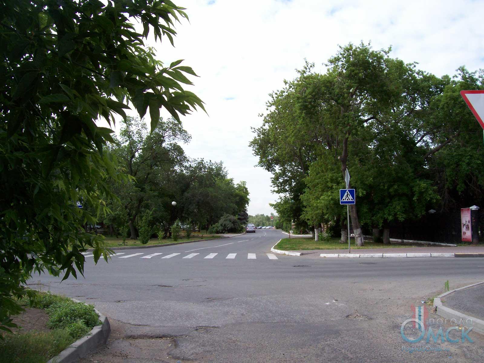 Перекрёсток улиц Партизанская и Таубе