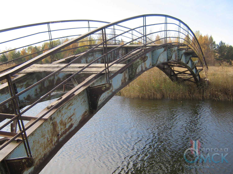 Старый мост в парке
