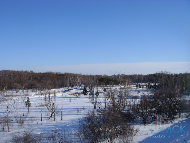 Вид на парк Победы