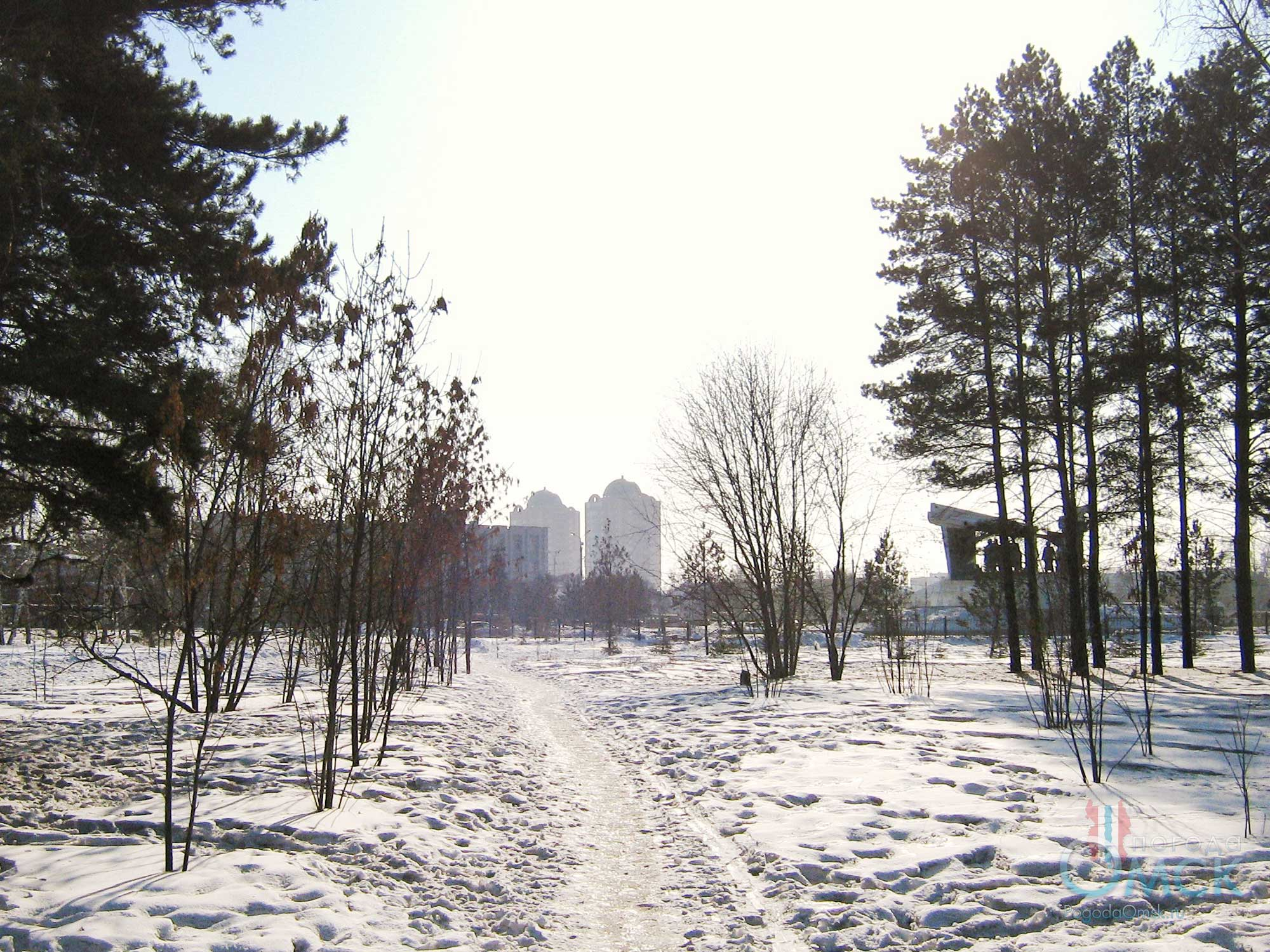 Мартовский день в парке