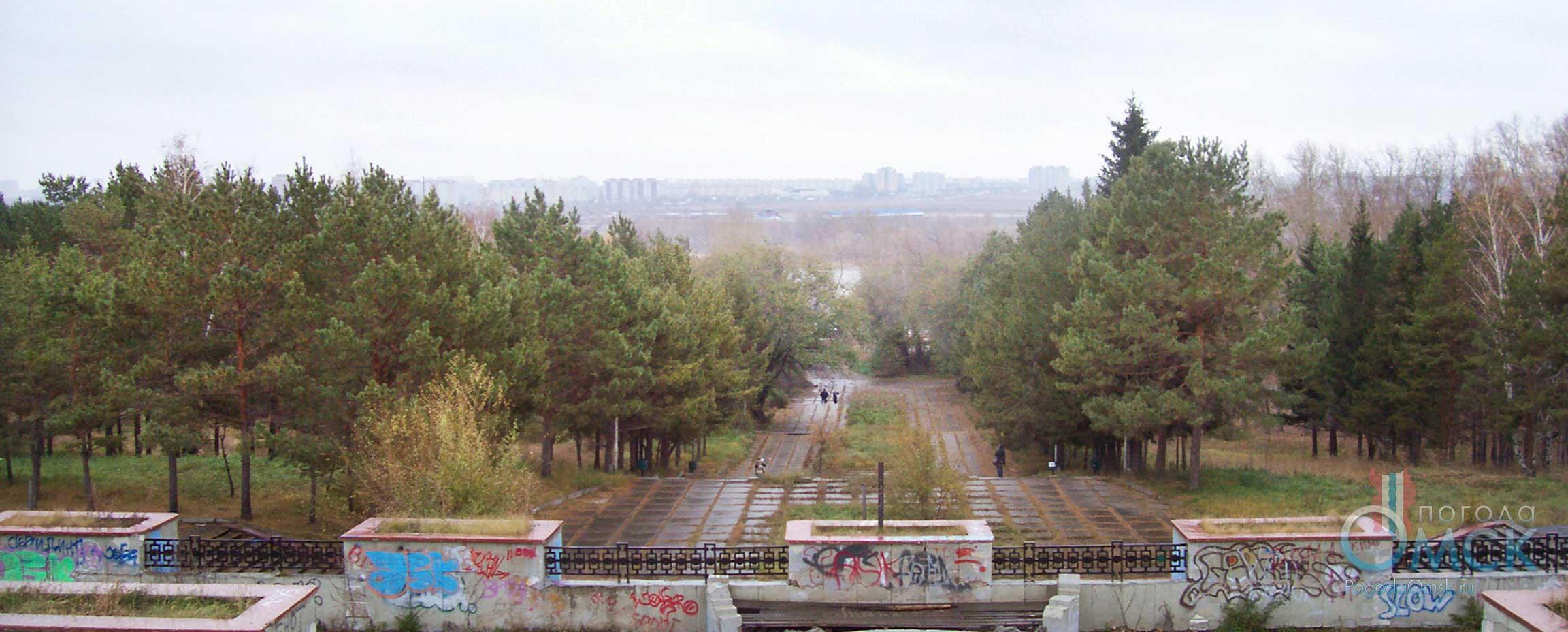 Парк Советского округа Омска