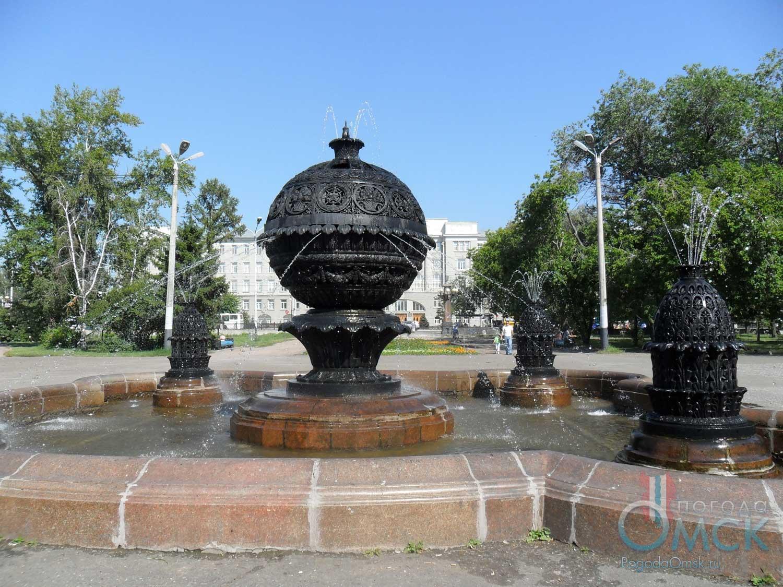 Фонтан «Изобилие» в сквере имени 30-летия ВЛКСМ