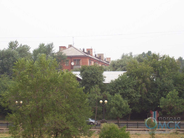 Вид с горки в сторону улицы Маяковского