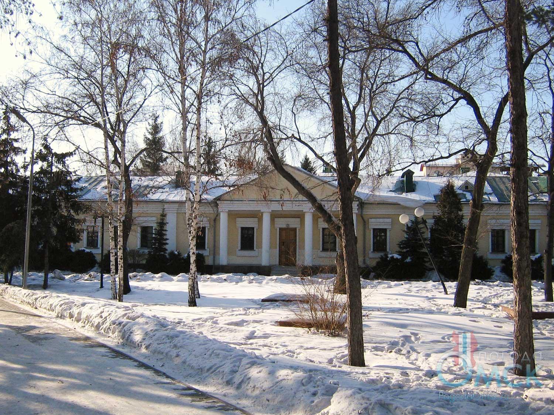 Штаб Омской крепости на улице Таубе