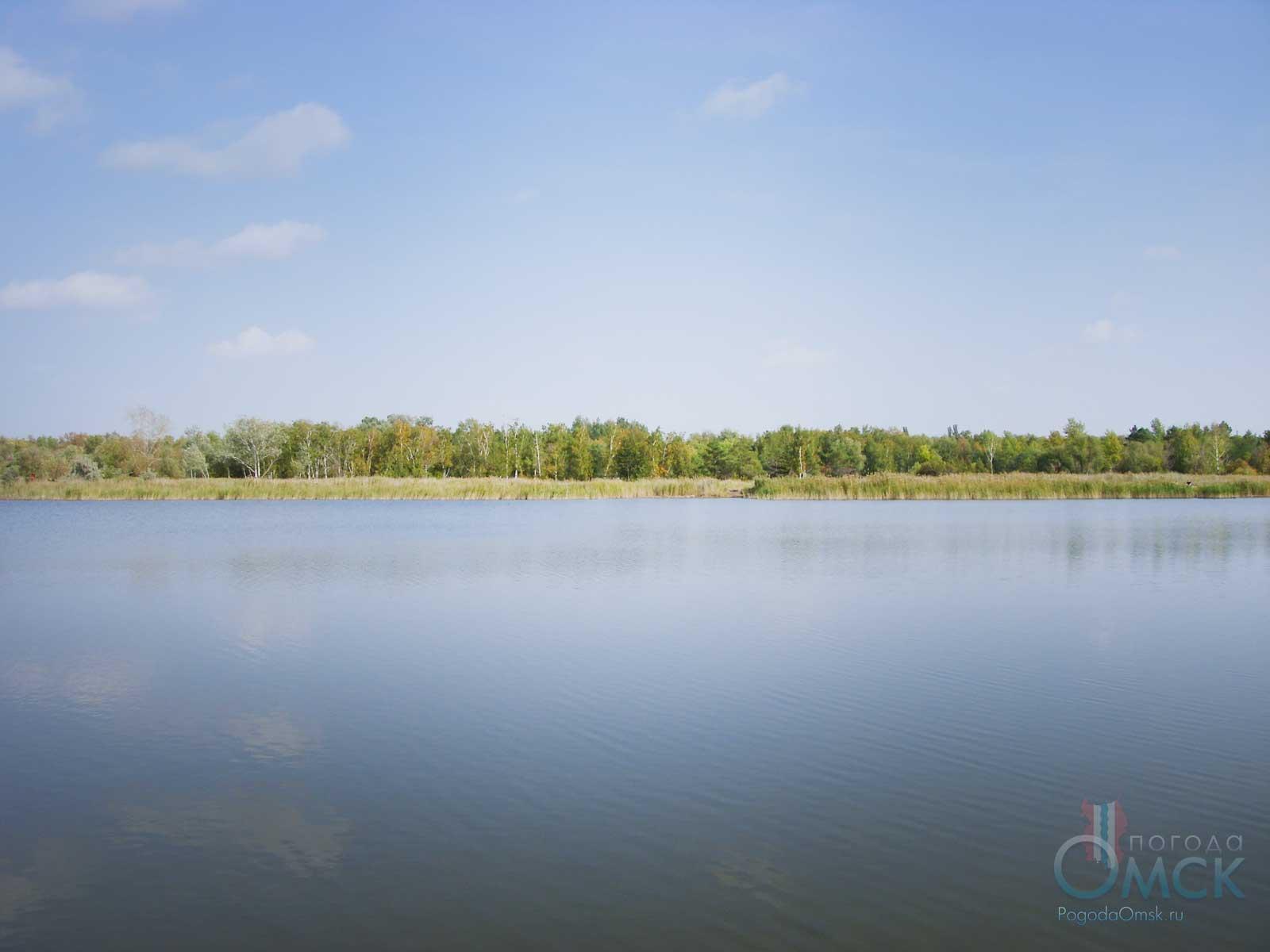 Солёное озеро в парке Победы