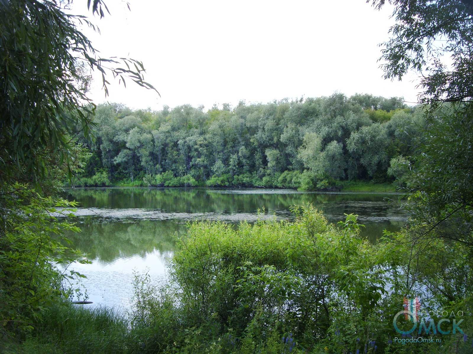 Озеро на острове «Кировский»