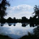 Озеро на острове «Кировский» прозванное в народе «Омский Байкал»
