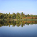 Озеро в парке культуры и отдыха им. 30-летия ВЛКСМ