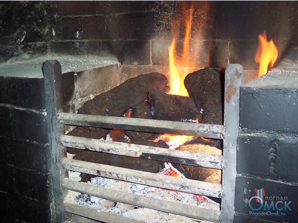 Сжигание торфа